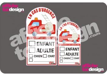 Affiche ton design Collant pour voiture