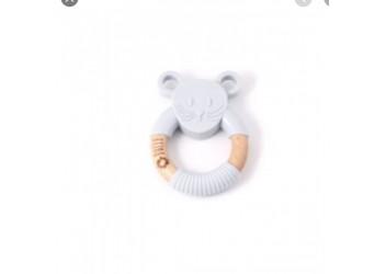 Hochet souris grise