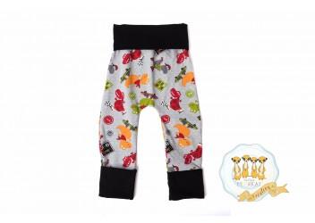 Pantalon dinosaure 0-12 6-36