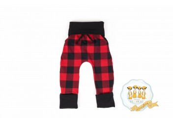 Pantalon Carreau rouge