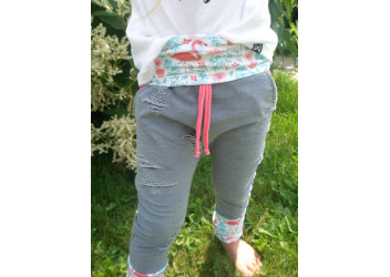 Jeans flamand rose