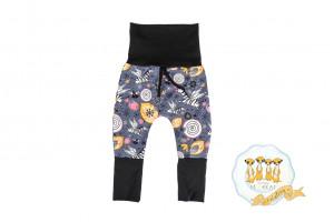 Pantalon zèbre licorne